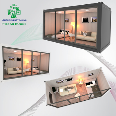 Luxury Living Prefab House Prefabricated Home Villa Prefab Log House Container Room Luxury Contain Ship House