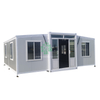 Luxury Expandable Container Houses Two Bedrooms With Complete Interior Decoration