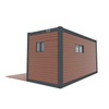 Longhe cheap tiny houses prefab houses apartment with 1 container 1bedroom 1bathroom