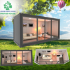 Around Glass Shipping Container Tiny House Containers House Expanding Living Container House Prefab
